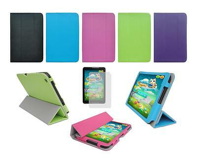 """Folio Skin Cover Case and Screen Protector for Ematic 8"""" HD EWT816 Tablet"""