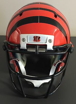 Chad Johnson Cincinnati Bengals 2010 Professional Model Game Helmet