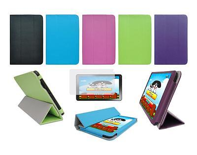 """Folio Skin Cover Case and Screen Protector for DigiLand 10.1"""" DL1010Q Tablet"""