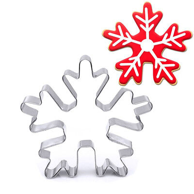 Baking Mini Metal Christmas Snowflake Gingerbread Biscuit Pastry Cookie Cutter