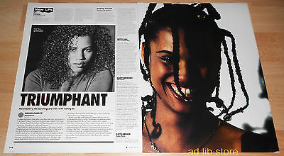 NENEH CHERRY - HOMEBREW REVIEW AND PICTURE UK Clipping