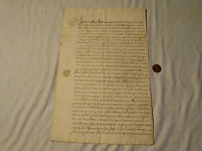 Antique 1781 M WALKER of SHADWELL - JAMES GREENHOW - Stainton Manuscript #A44