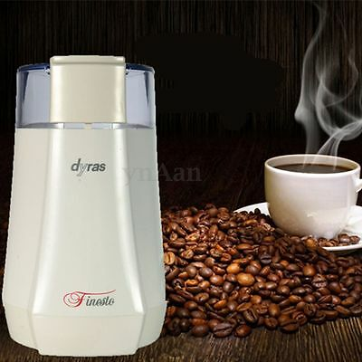 Stainless Steel Blades Electric Coffee Beans Nuts Grinder Spice Grinding Machine