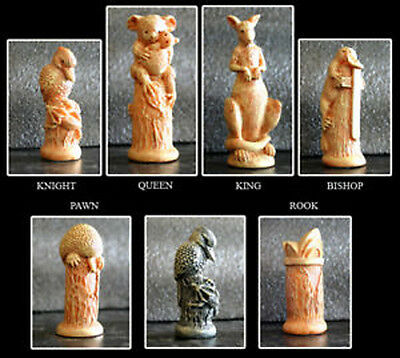NEW Veronese Australian Chess Pieces Board NOT Included