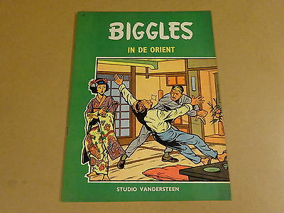Strip 1° Druk / Biggles N° 5 - In De Orient