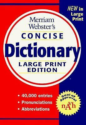 Merriam-Webster's Concise Dictionary by Merriam-Webster