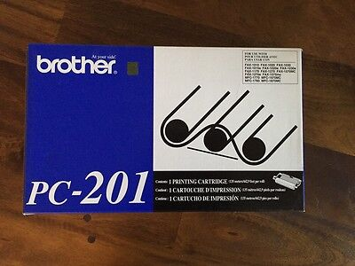 Brother Pc-201 Fax Machine Printing Cartridge - New In The  Box