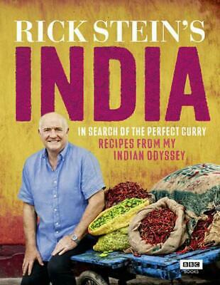 Rick Stein's India by Rick Stein (English) Hardcover Book Free Shipping!