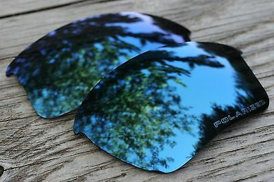 Navy Blue Polarized Replacement Sunglass Lenses for Oakley Half Jacket 2.0 XL