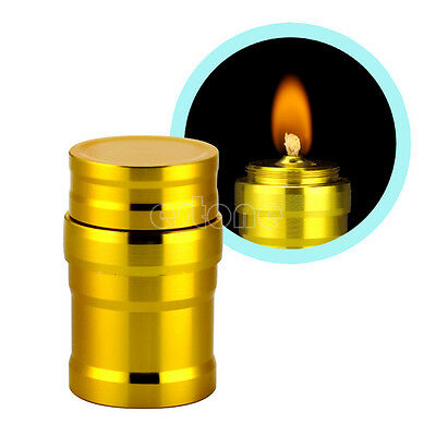 Portable Mini 10ml Alcohol Burner Lamp Aluminum Case Lab Equipment Heating New
