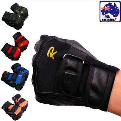 Unisex PU Gloves Fingerless Anti-Slip Driving Motorcycle Biker Outdoor CGLOV 38