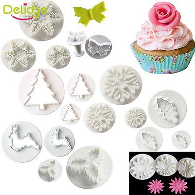 Fondant Cake Plunger Cookies Cutter Sugar Craft Pastry Decorating Baking Tools
