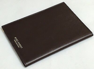 Kiki James (Sister of Aspinal) Leather Passport Holder Cover. Various Colours.