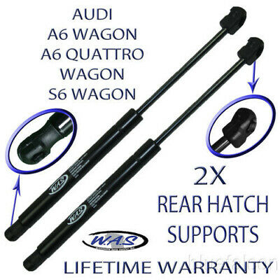 Two Rear Hatch Liftgate Lift Supports Shock Rod For A6 Avant + Quattro S6 Wagon