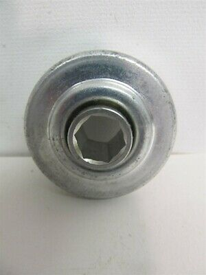 "7/16"" Hex, 1.712"" OD Flangeless Press Fit Conveyor Roller Bearing"