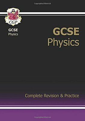 GCSE Physics Complete Revision & Practice, CGP Books Paperback Book The Cheap