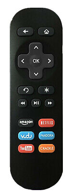 New Roku Replaced IR Remote 9026000010-07 for Roku 1/2/3/4 LT HD XD XS player