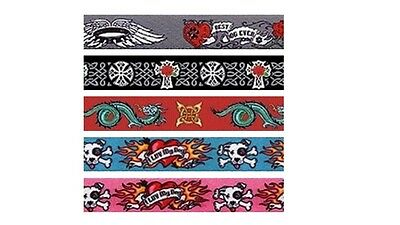 Yellow Dog Collar Tattoo Designs Celtic Cross Dragons or Leash Lead XS S M L