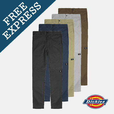 Dickies WP811 Skinny Straight Double Knee $64.90 Free EXPRESS Shipping Aus Wide