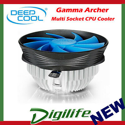 Deepcool Gamma Archer Cpu Heatsink & 120Mm Fan Intel 1150 1155 1156 775 &amd