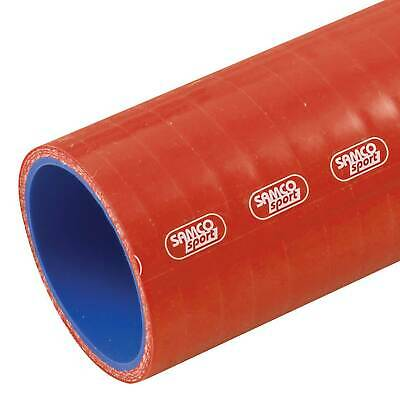 Samco Air/Water Straight 1m/1 Metre Length Silicone Hose 8mm Bore In Red