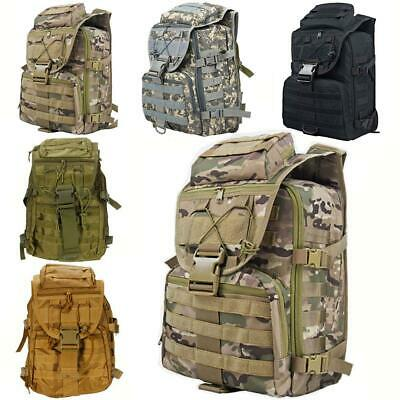 New Outdoor Military Tactical Backpack Hiking Camping Trekking Rucksacks 35L bag