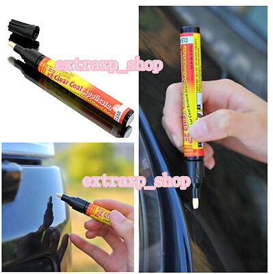 Fix It Pro Car Scratch Repair Remover Pen Clear Coat Applicator Tool Universal x