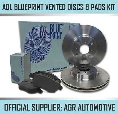 BLUEPRINT FRONT DISCS AND PADS 242mm FOR HYUNDAI ACCENT 1.5 TD 2002-06