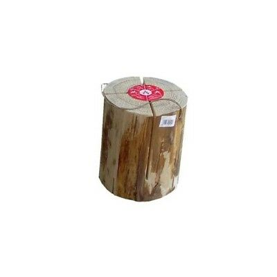 Ecoflame Ecocandle Traumfeuer Holzkerze  17,5 - 21,0 x 23 cm Holz Feuer Brennen