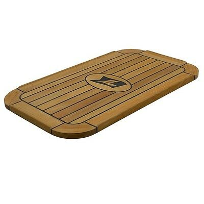 Larson Boats 8322-1345-TABLE-00 Brown 23 5/8 Inch Solid Teak Wood Boat Table