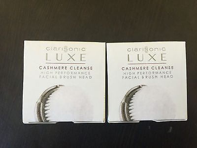2 Clarisonic Replacement Brush Heads LUXE  Radiance