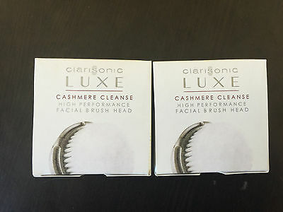 4 Clarisonic Replacement Brush Heads LUXE  Radiance