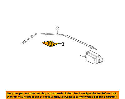 gm oem cruise control system cable bracket 12561510 $4 54 picclick