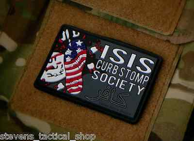 ISIS Curbstomp Society PVC Morale Patch
