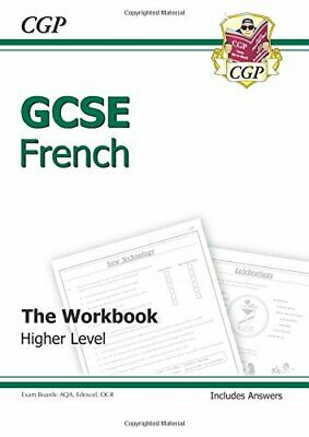 GCSE French Workbook (including Answers) Higher (A*-G co by CGP Books 1841468037