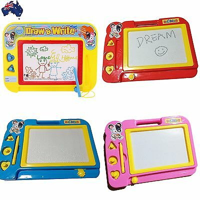 Kid Magnetic Drawing Board Sketch Pad Doodle Writing Art Child Toy GWRIT