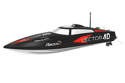 Volantex Vector 40 Brushless RTR Speed Boat Black - Fast and Furious!