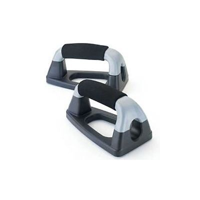 York Push Press Up Stands Bars Handles Exercise Fitness Gym Home Workout