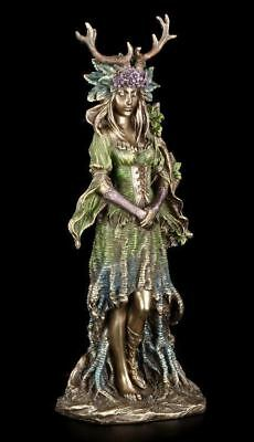 Wicca Göttin Figur - Lady Of The Forest - Magie Mutter Natur Götter Fantasy