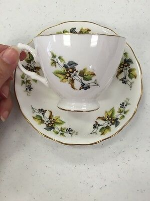 Ridgway Teacup And Saucer: Queen Anne Pattern