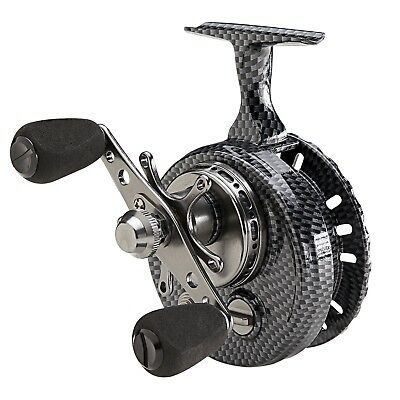 Eagle Claw Magnum Inline Ice Reel 5 Ball Bearing New Larger Size!