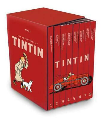 Complete Adventures of Tintin by Herge Hardcover Book (English)