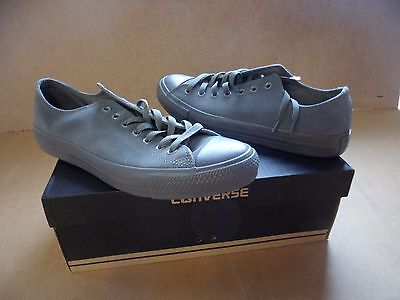 Converse Unisex Chuck Taylor All Star Suede Charcoal Shoes 143879C