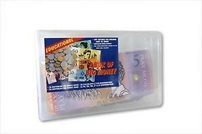 NEW A Box of Big Australian Based Play Money Notes & Coins - Math Teaching Aid