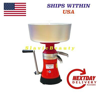 Dairy Milk Cream Separator 80L/h Manual . Free Usa Shipping!
