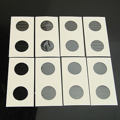 """50Pcs Stamp Coin Holders Cover Case Storage 2X2"""" Flip 40mm New"""