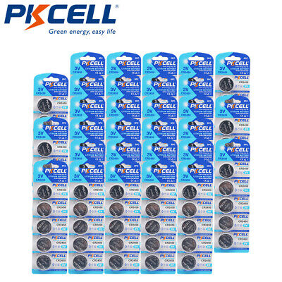 3 PC CR2450 CR 2450 DL2450 BR2450 3V Lithium Coins Cell Battery PKCELL CA Seller