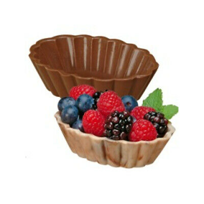 Wilton Candy Dessert Shells Mousse Cups Chocolate Molds Mould Sugarcraft