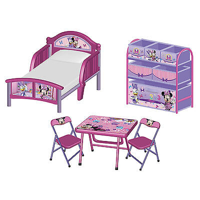 Delta Children Disney Minnie Mouse 3 Piece Room Set Room In A Box Toddler Bed