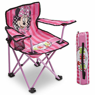 Delta Children Disney Minnie Mouse Folding Camping Chair Childs Fishing Chair